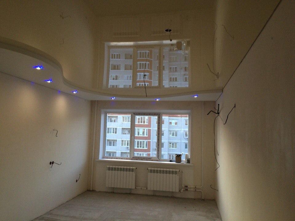 Двухуровненвый потолок с подсветкой — Атмосфера